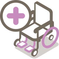Accessoires fauteuil roulant