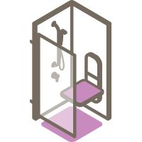 Assise de douche