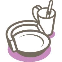 Vaisselle ergonomique