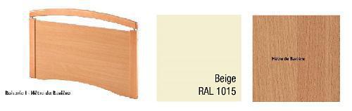 Options pour le lit médicalisé EURO 9302