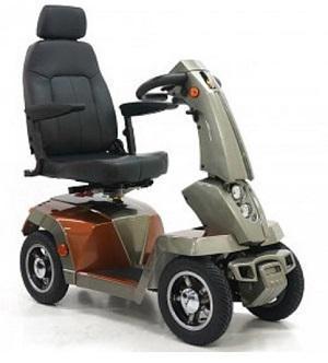 Le scooter électrique 4 roues pour personnes à mobilité réduite - FREE 2 BE