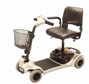 Le scooter électrique pmr léger 4 roues - ULTRA LIGH 400