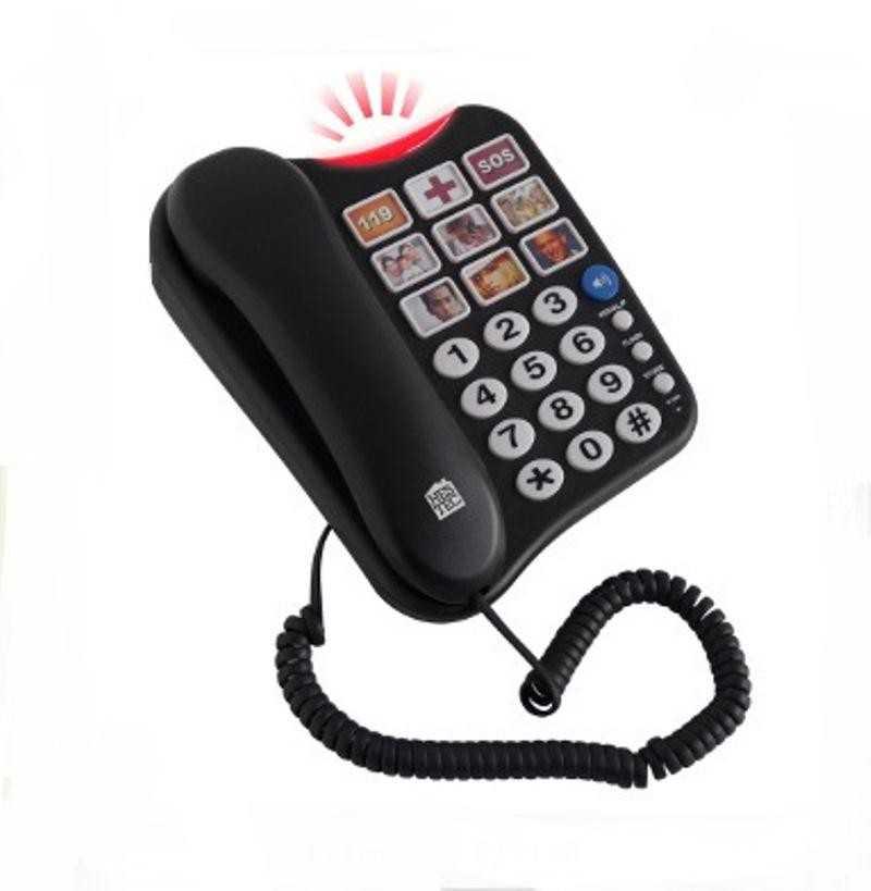 Téléphone avec grosses touches