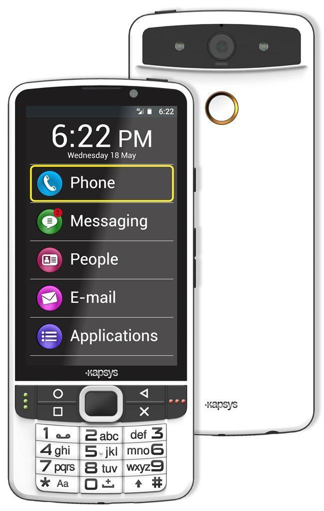 Smartphone non voyant Smartvision 2