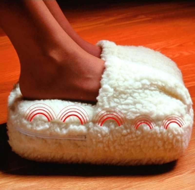 Chauffe pieds massant