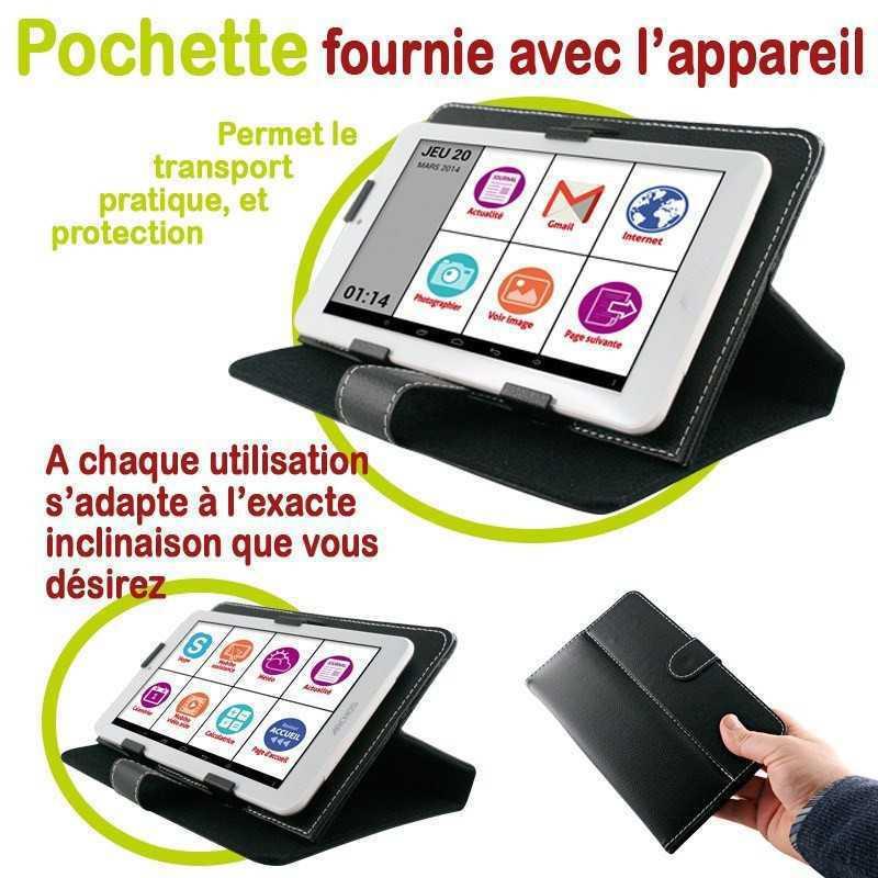 Tablette tactile senior 7 pouces