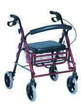 Déambulateur 4 roues fauteuil de transfert